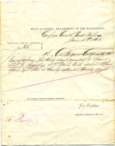Bradley Letter: June 4, 1862