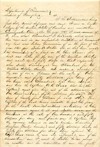 Bradley Letter: March 24, 1864