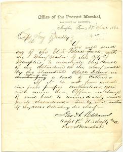 Bradley Letter: April 27, 1864