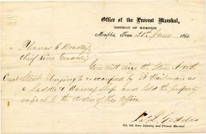 Bradley Letter: June 21, 1864