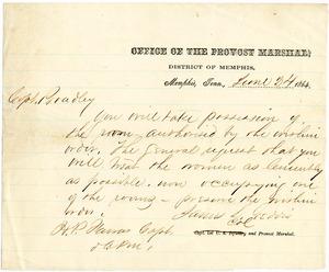 Bradley Letter: June 24, 1864