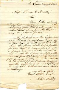 Bradley Letter: August 15, 1864
