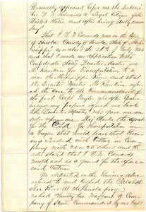 Bradley Letter: date unknown (after July 22, 1864)