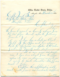 Bradley Letter: March 20, 1865