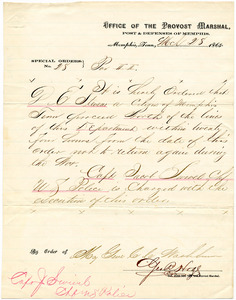 Bradley Letter: March 28, 1865