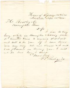 Bradley Letter: November 14, 1865