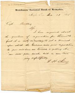 Bradley Letter: December 19, 1865