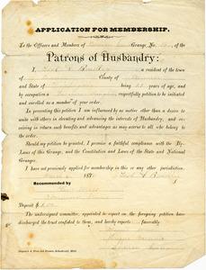 Bradley Letter: March 6, 1880
