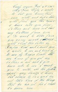 Benjamin B. Brock Letter: February 6, 1862
