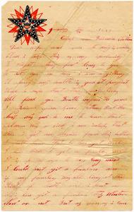 Benjamin B. Brock Letter: January 24, 1863