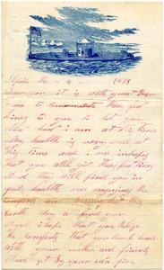 Benjamin B. Brock Letter: April 4, 1863