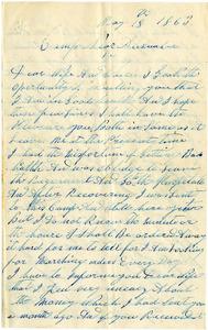 Benjamin B. Brock Letter: May 18, 1863