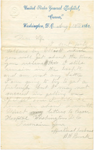 Benjamin B. Brock Letter: August 10, 1863