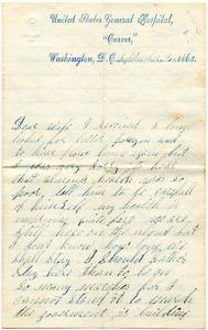Benjamin B. Brock Letter: September 3, 1863