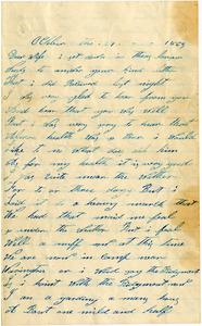 Benjamin B. Brock Letter: October 29, 1863