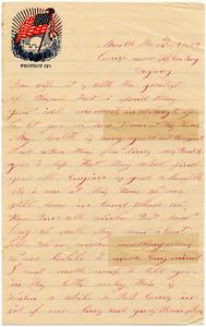 Benjamin B. Brock Letter: March 14, 1864