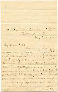 Benjamin B. Brock Letter: May 28, 1864