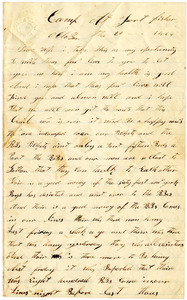 Benjamin B. Brock Letter: October 20, 1864
