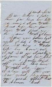 Benjamin B. Brock Letter: December 21, [year unknown]