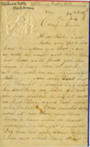 Roger Noble Letter - December 25, 1861