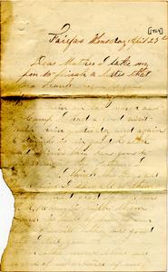 Alvah Marsh Letter: April 27, 1864