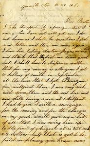 Arnold Letter: November, 28, 1863