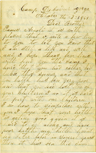 Arnold Letter: October 3, 1864