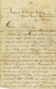 Arnold Letter: June 16, 1865