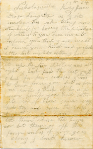 Jesse Taft Letter: June 19, 1864