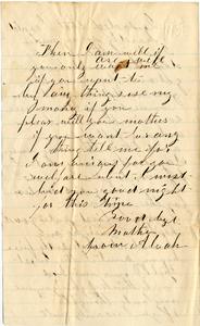 Benjamin F. Marsh Letter: February 22, 1863