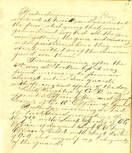 Edwin R. Havens Diary October 18, 1862 through February 20, 1863
