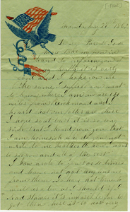 Alvah Marsh Letter: May 29 1862