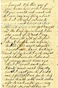 Alvah Marsh Letter: October 15 1862