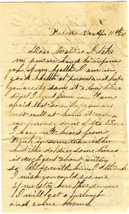 Alvah Marsh Letter: April 11 1863