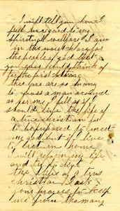 Alvah Marsh Letter: April 28 1863