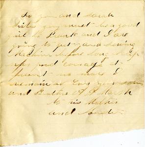 Alvah Marsh Letter: April 27 1864