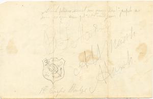 Alvah Marsh Letter: September 15 1864