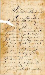 Alvah Marsh Letter: February 27 & March 4, 1863