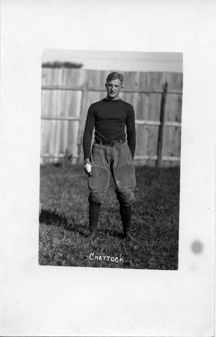 Chattock, M.A.C. football player