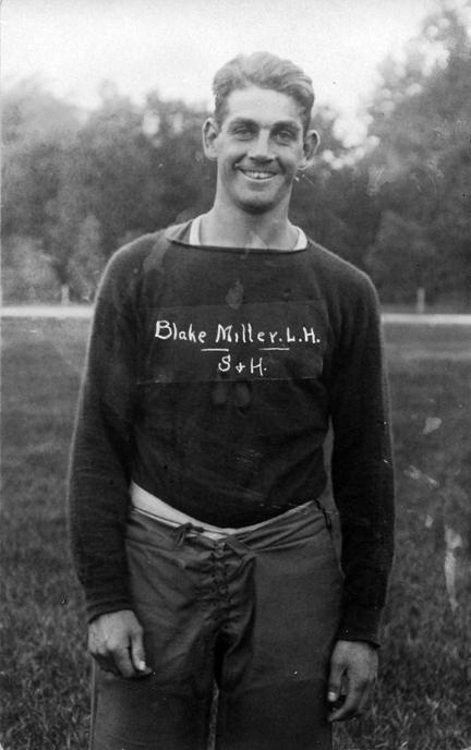 Blake Miller, M.A.C. football player