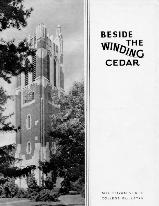 Beside the Winding Cedar; 1940-1949