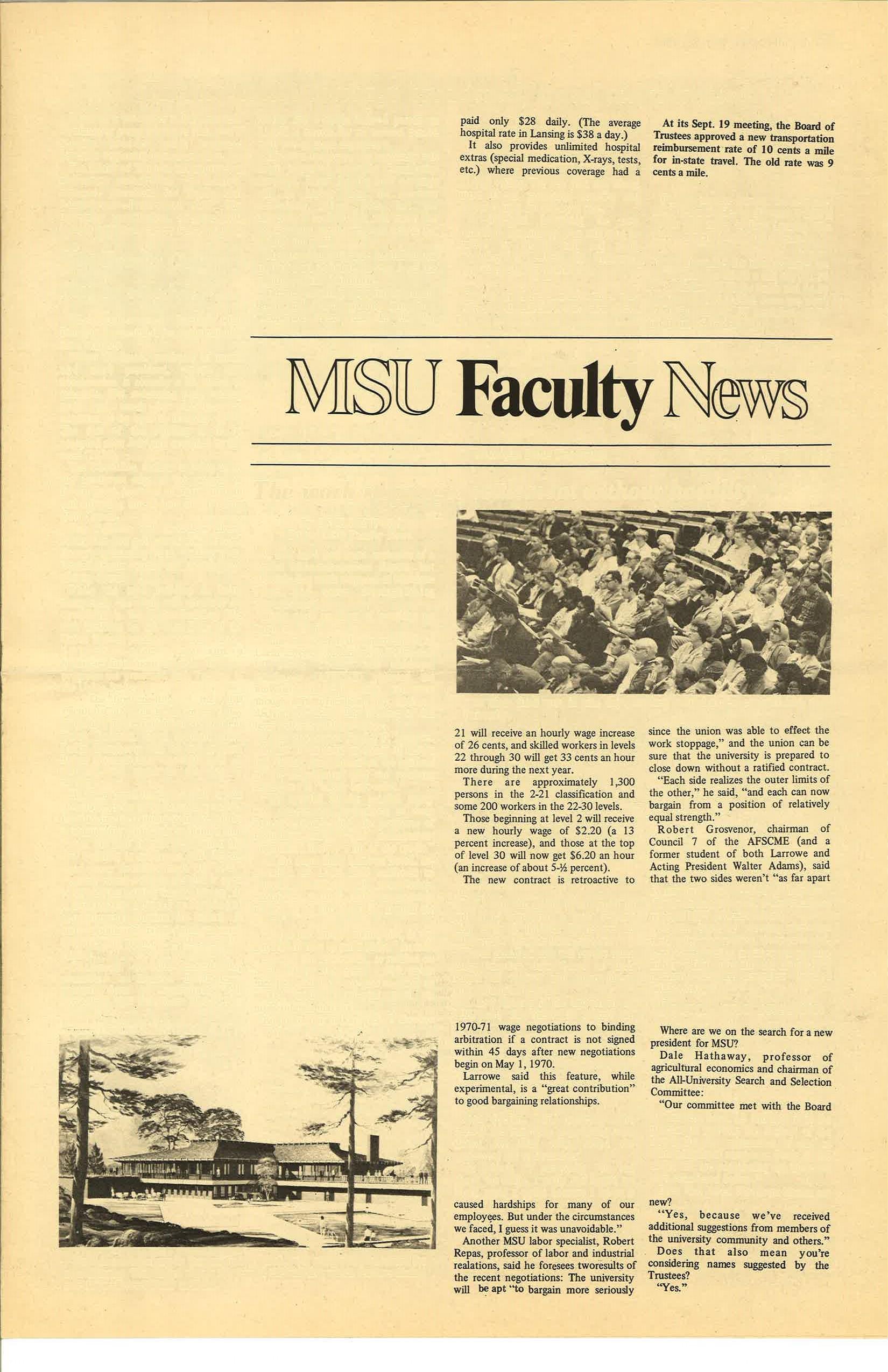 MSU News Bulletin, Vol. 1 No. 3, October 14, 1969