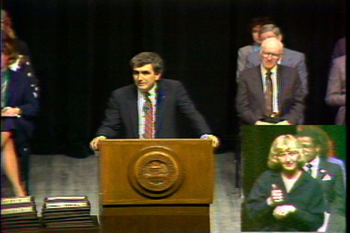 DiBiaggio's 1st State of the University