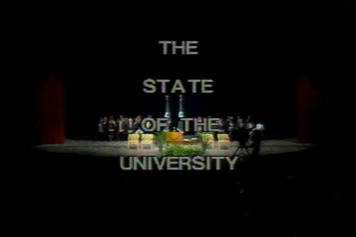 State of the University Address 1987
