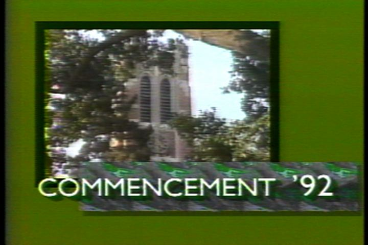 Spring Commencement, 1992