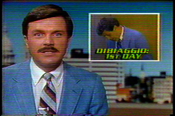 First Newscasts Featuring DiBiaggio, 1985