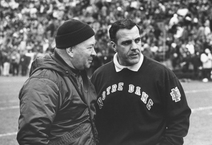 """MSU Football vs. Notre Dame """"Game of the Century"""", 1966"""