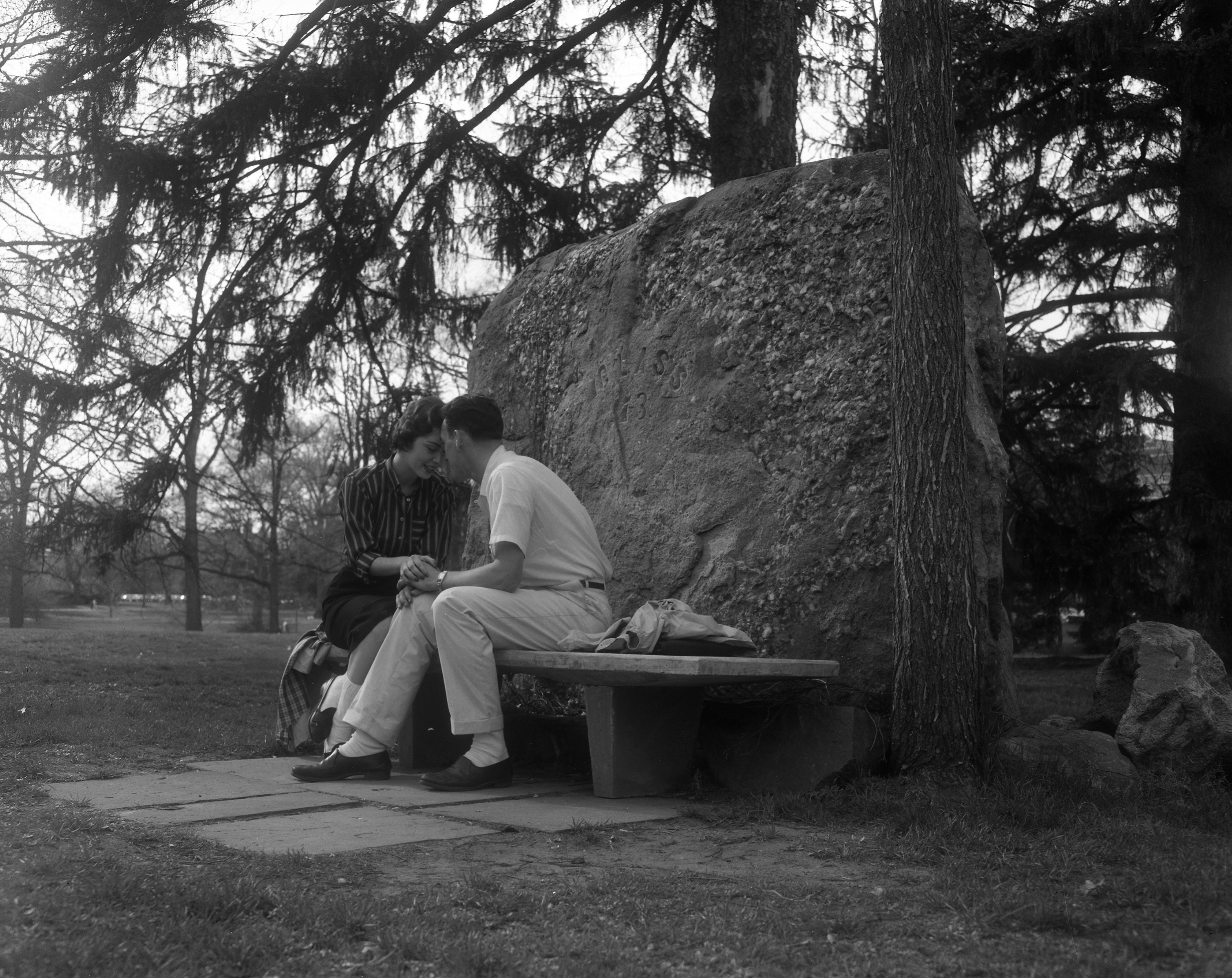Engagement Rock, April 21, 1958