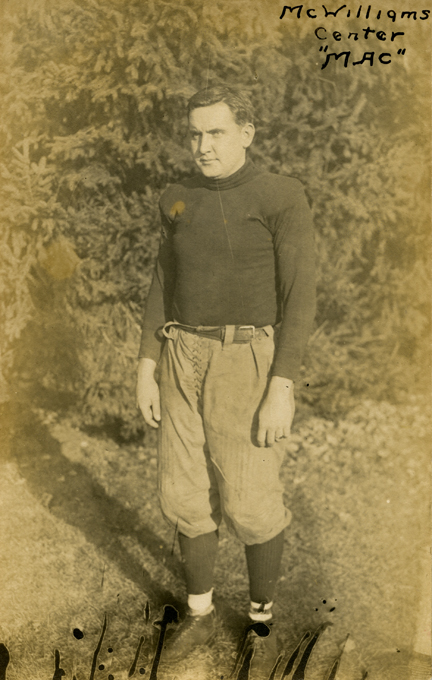 McWilliams, M.A.C. football player