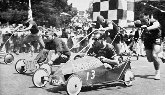 Push Race, 1962